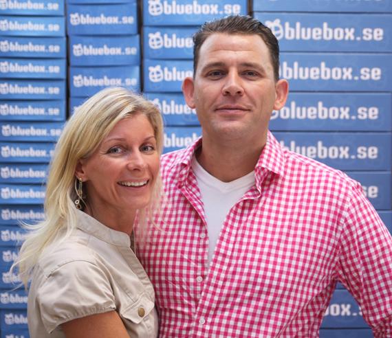 Charlotta och Nick, Bluebox grundare