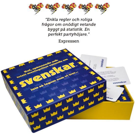 Sällskapsspel - Svenskar