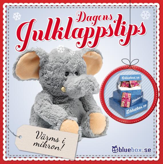 Dagens julklappstips - Vetevärmare, elefant