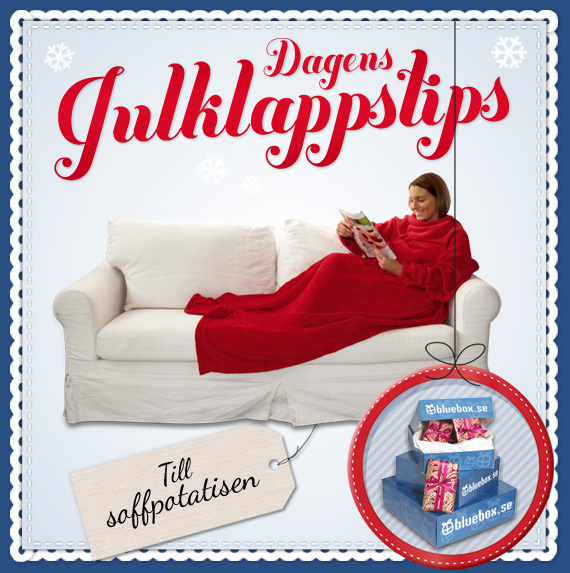 Julklappstips - fleecefilt