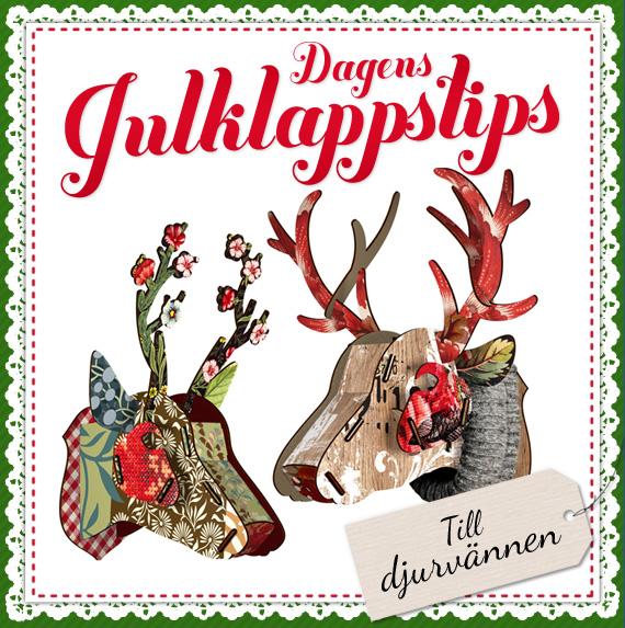 Dagens julklappstips - hjorttrofé