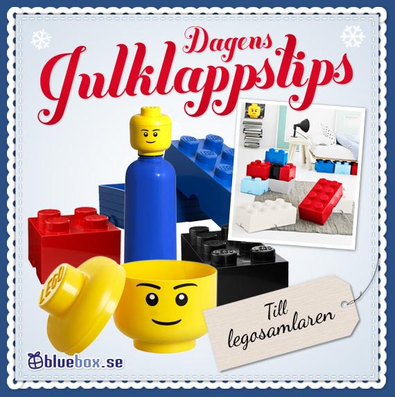 Dagens julklappstips - Legolådor