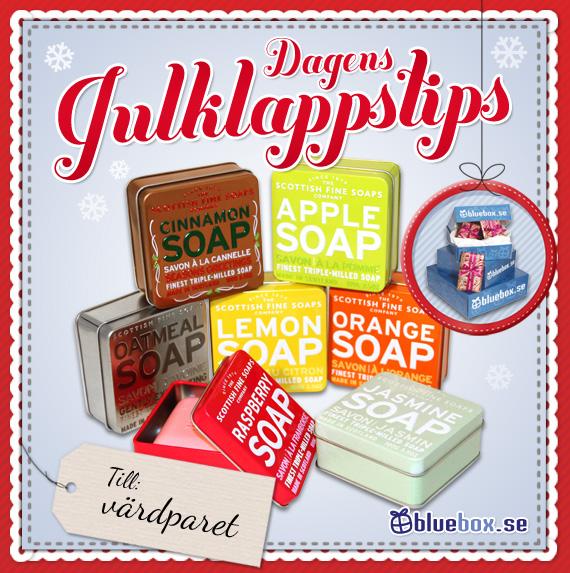 Dagens julklappstips - tvålar