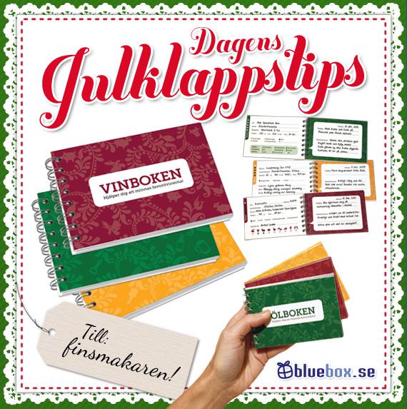 Julklappstips - Fyll-i-böcker: Vinboken, Ölboken, Whiskyboken