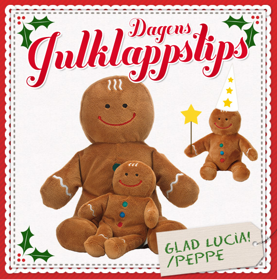 Dagens julklappstips - Peppe Pepparkaka