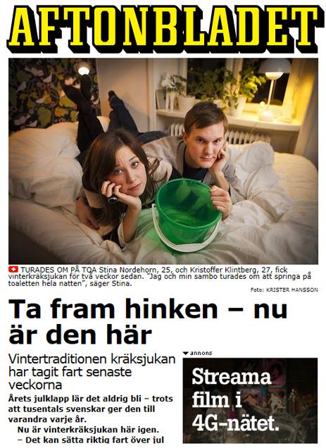 Aftonbladet vinterkräksjukan