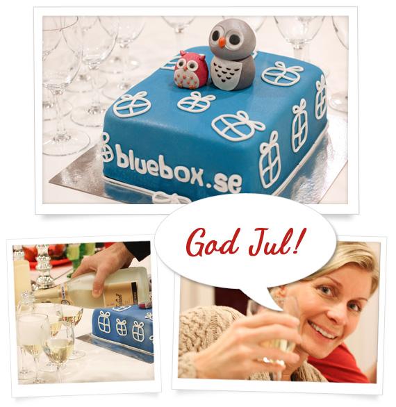 Blueboxtårta