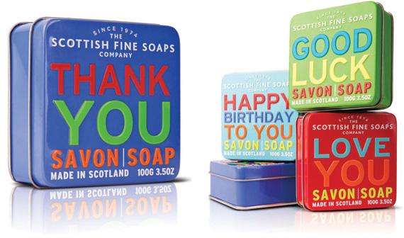 Tvålar på Bluebox.se
