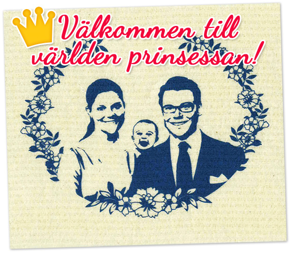 Disktrasa - Victoria, Daniel och prinsessbebis