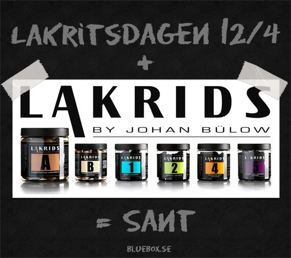Lakritsdagen - Lakrids by Johan Bülow