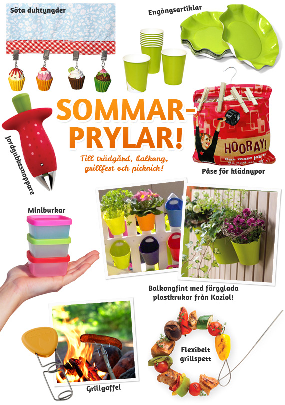 Sommarprylar p Bluebox.se