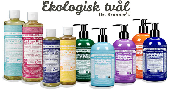 Dr. Bronner's ekologiska 18-i-ett tvål