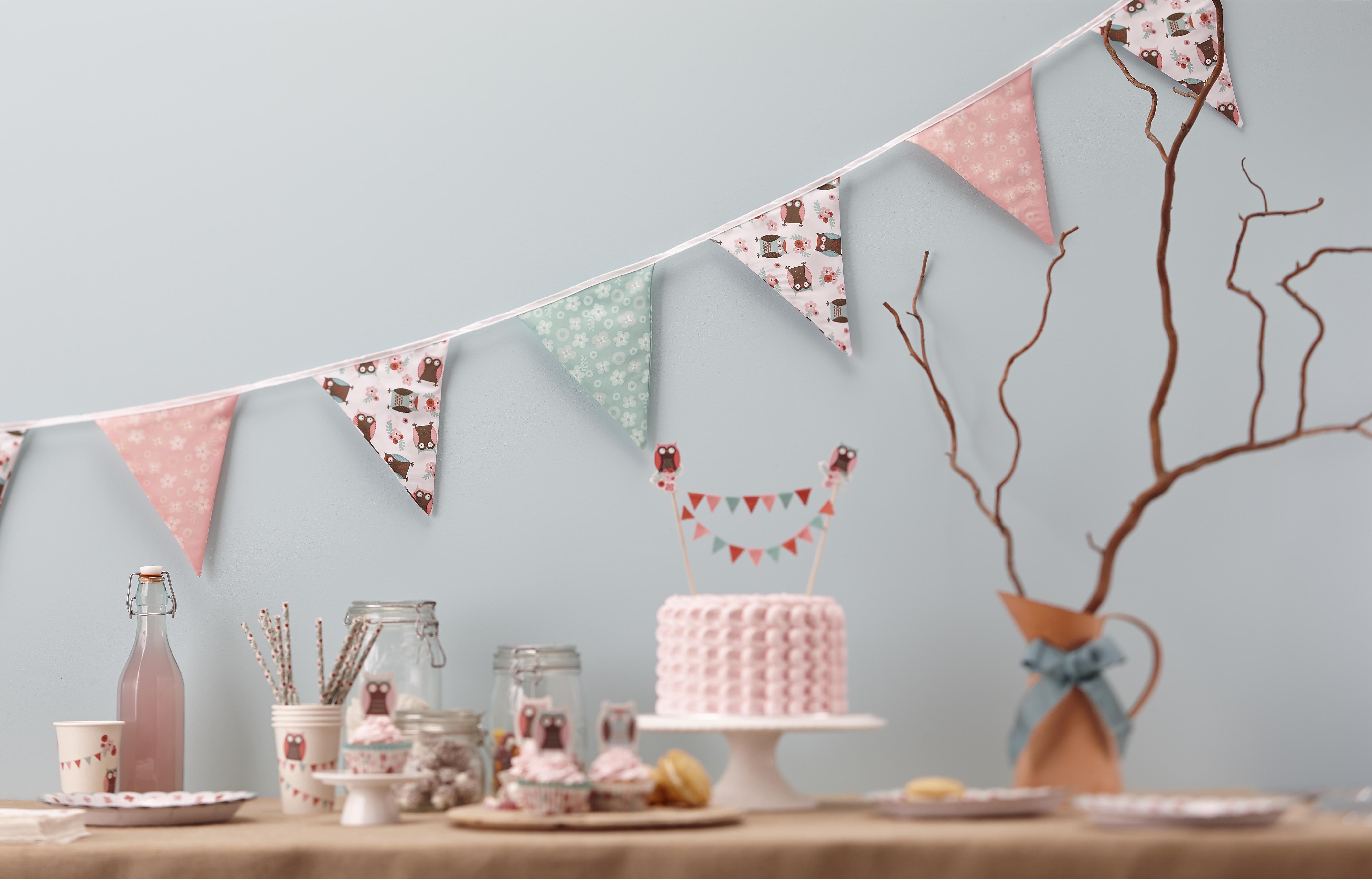 dekoration till babyshower